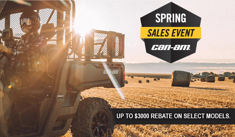 Spring Sales Event at Riderz