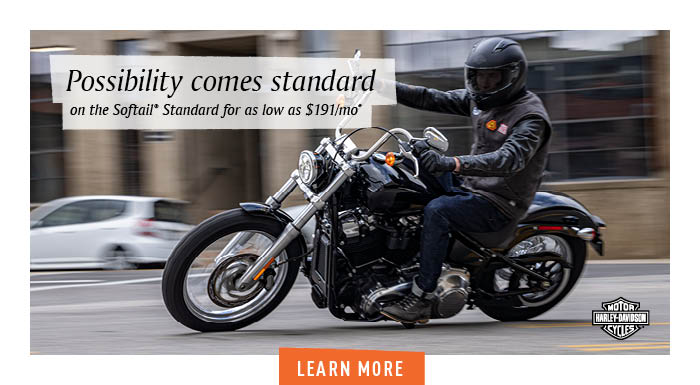 March Softail Financing Offer at Carlton Harley-Davidson®