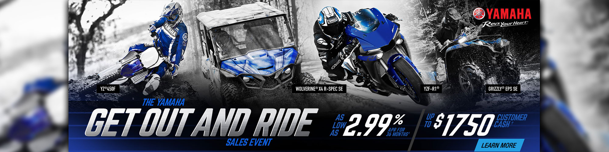 Get Ready To Ride Sales Event