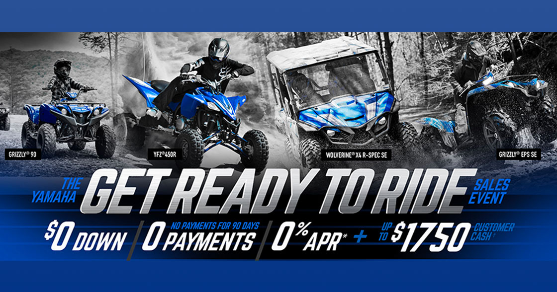 Get Ready To Ride Sales Event at Van's Motorsports