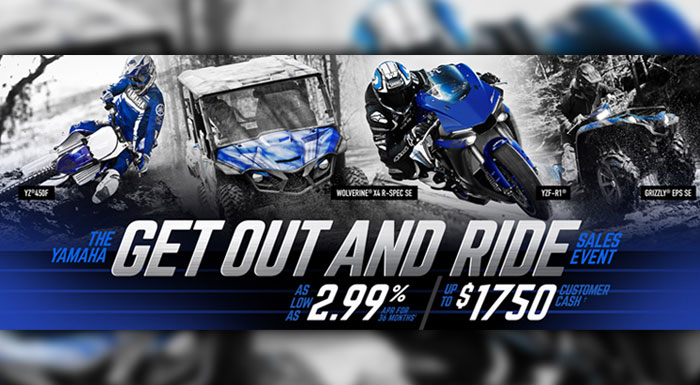 Get Ready To Ride Sales Event at Champion Motorsports