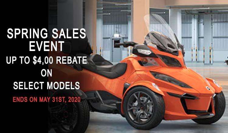 Spring Sales Event at Wild West Motoplex
