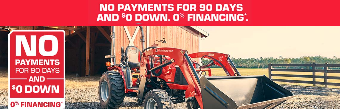 Tractor Special Offer at Thornton's Motorcycle - Versailles, IN