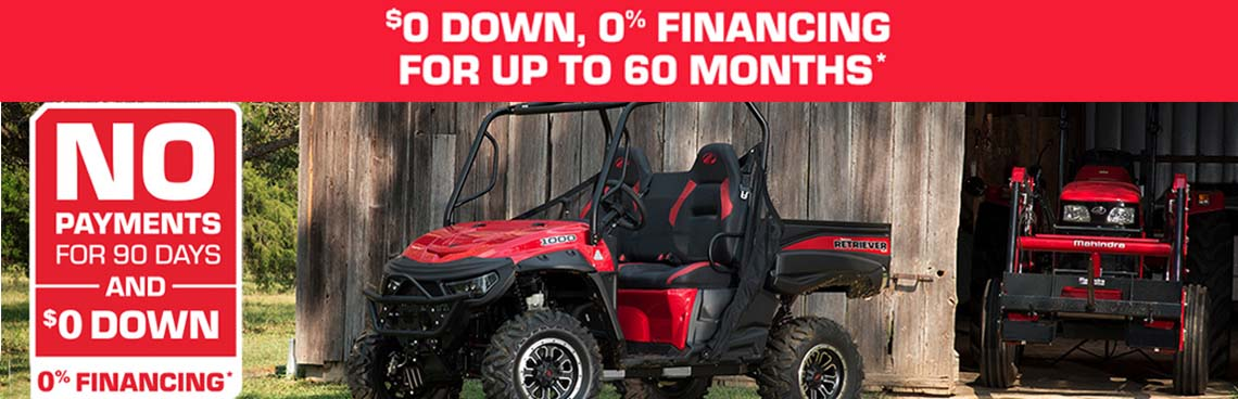 Offroad Special Offer at Thornton's Motorcycle - Versailles, IN