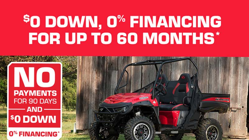 Offroad Special Offer at Star City Motor Sports