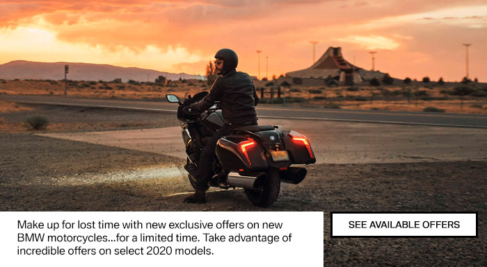 BMW MOTORRAD SPECIAL OFFERS at Shreveport Cycles
