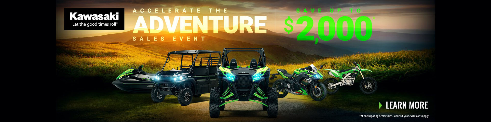 Accelerate The Adventure Sales Event