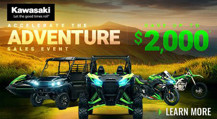 Accelerate The Adventure Sales Event at R/T Powersports