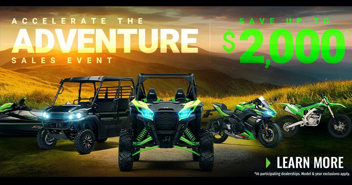 Accelerate The Adventure Sales Event