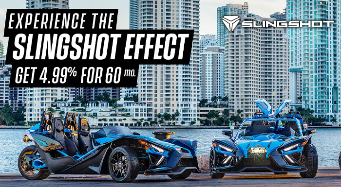 Experience The Slingshot Effect at Extreme Powersports Inc
