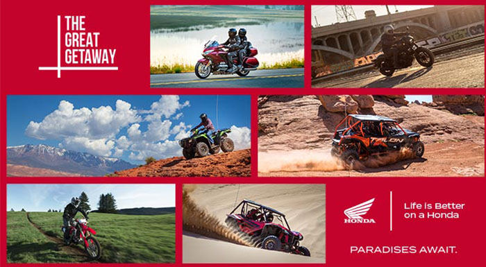 The Great Getaway Sales Event at Wild West Motoplex