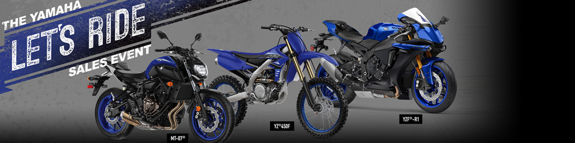 The Yamaha Let's Ride Sales Event