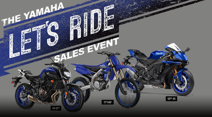 The Yamaha Let's Ride Sales Event at Wild West Motoplex