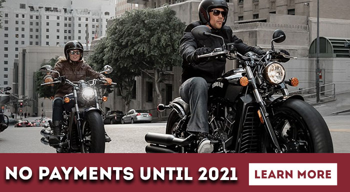 No Payments Until 2021 at Indian Motorcycle of Northern Kentucky