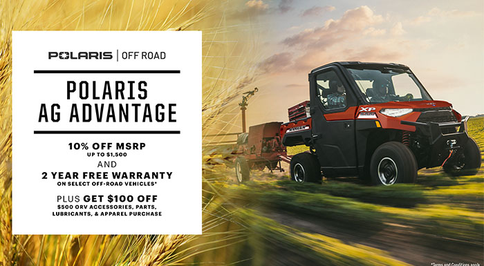 Polaris AG Advantage at Kent Powersports of Austin, Kyle, TX 78640
