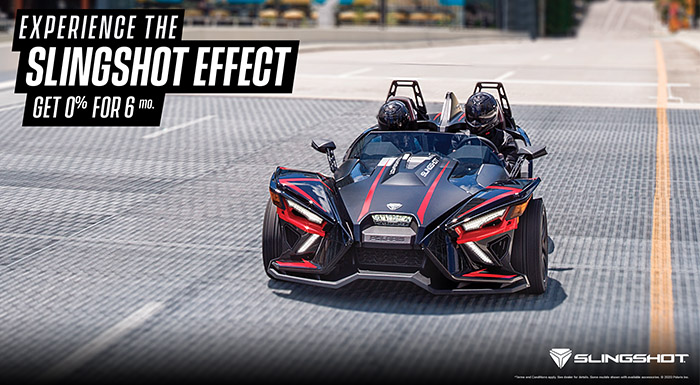 Experience The Slingshot Effect at Fort Fremont Marine