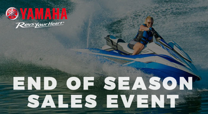 End of the Season Sales Event at Sun Sports Cycle & Watercraft, Inc.