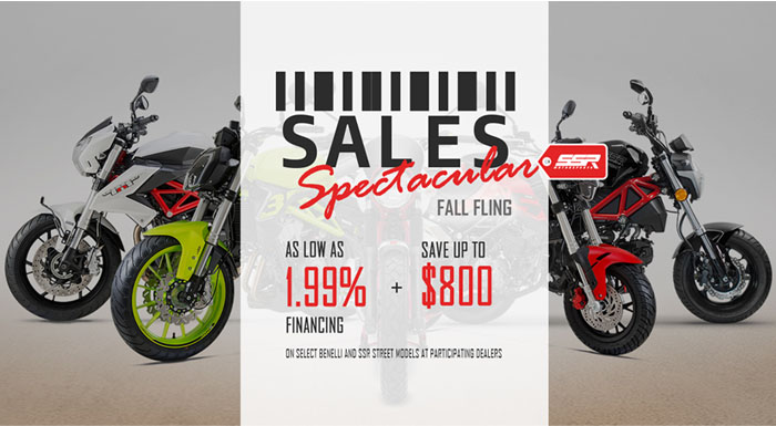 Sales Spectacular Fall Fling at Thornton's Motorcycle - Versailles, IN