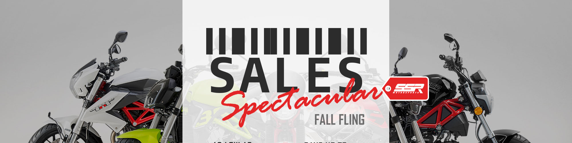 Sales Spectacular Fall Fling