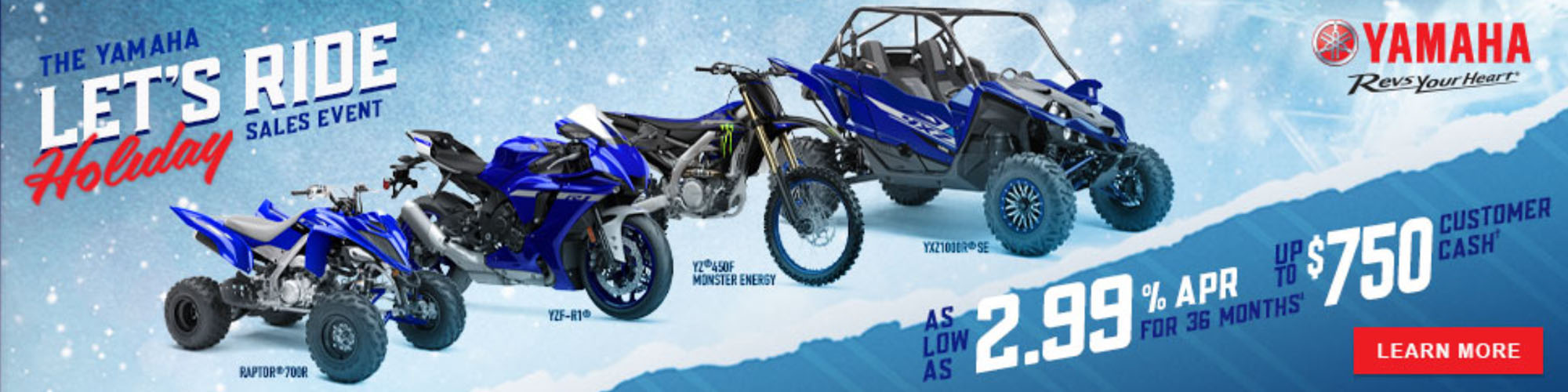 Let's Ride Holiday Sales Event