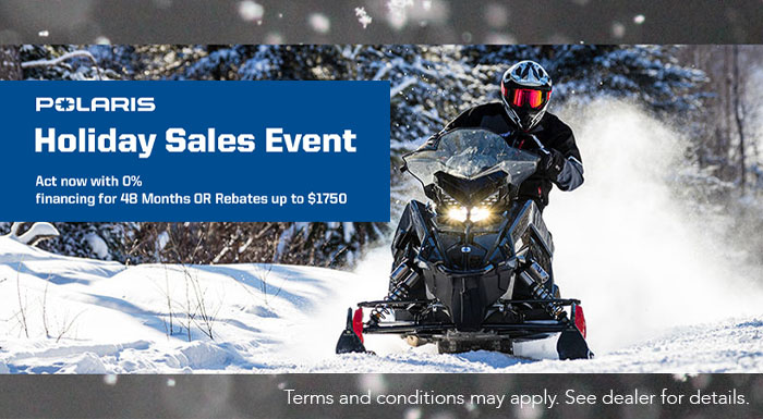 Polaris Holiday Sales Event at Cascade Motorsports