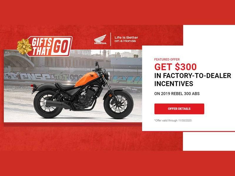 Honda Gifts that Go! at Sloans Motorcycle ATV, Murfreesboro, TN, 37129