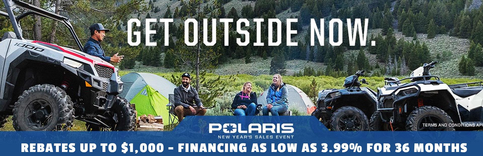 Polaris New Year's Sales Event
