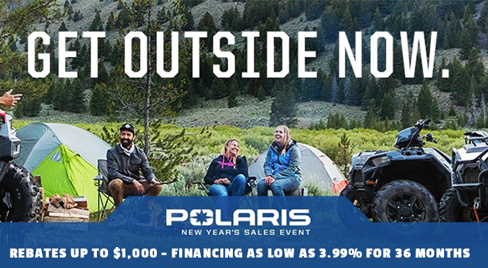 Polaris New Year's Sales Event at DT Powersports & Marine