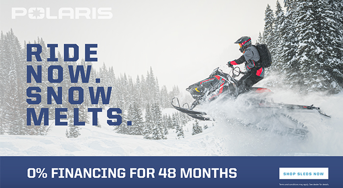 Polaris New Year's Snowmobile Sales Event at Cascade Motorsports