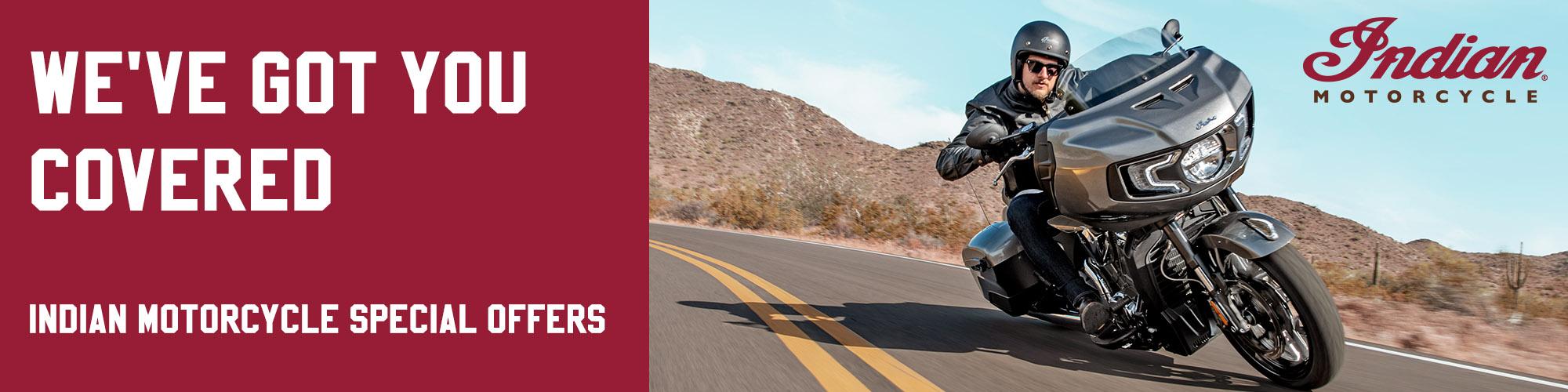 Indian Motorcycles Honoring Heroes