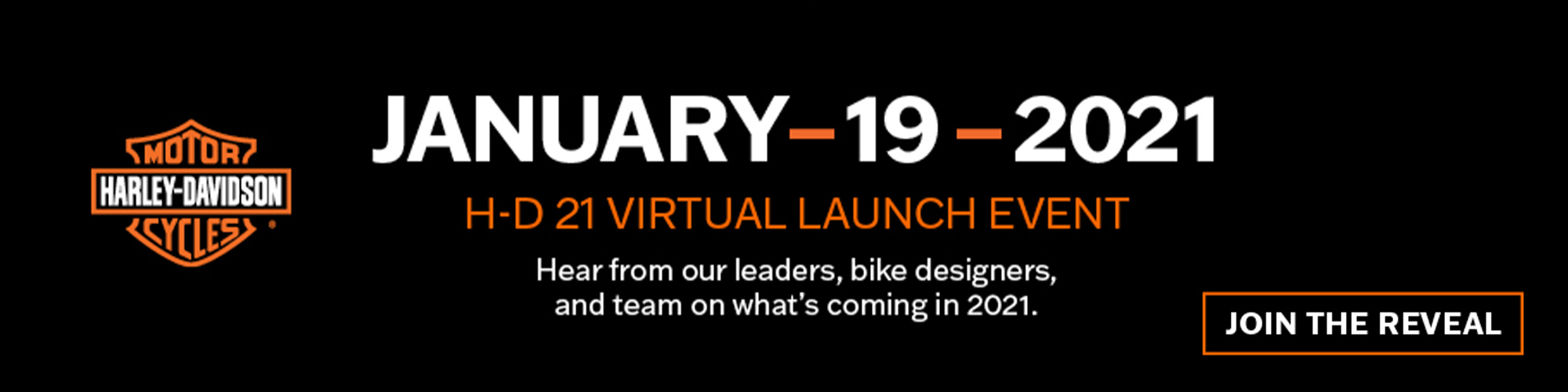 Harley-Davidson 2021 Virtual Product Launch Event