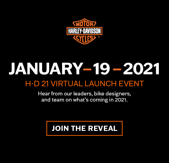 MY21 Virtual Event at Southside Harley-Davidson