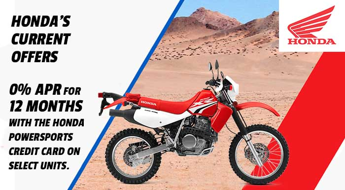 Honda's Current Offers at Nishna Valley Cycle, Atlantic, IA 50022