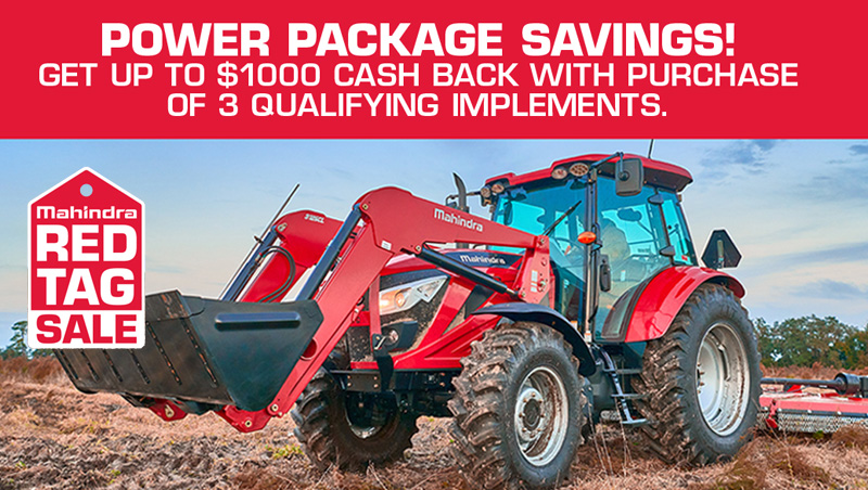 Mahindra's Power Package Savings! at Thornton's Motorcycle - Versailles, IN