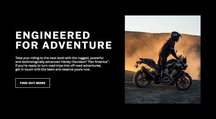 Engineered for Adventure at Worth Harley-Davidson