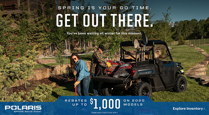 Polaris Spring Sales Event at Cascade Motorsports