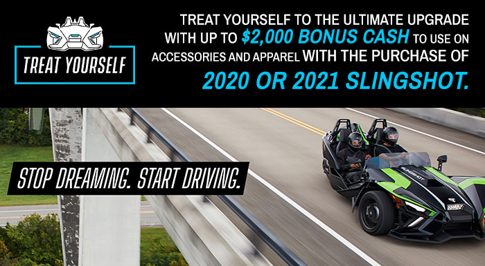 Polaris Slingshot Treat Yourself at Indian Motorcycle of Northern Kentucky