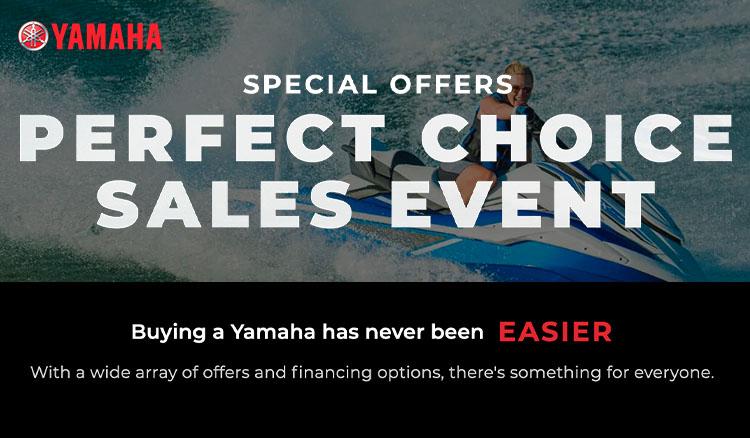 Yamaha's Perfect Choice Sales Event at Lynnwood Motoplex, Lynnwood, WA 98037