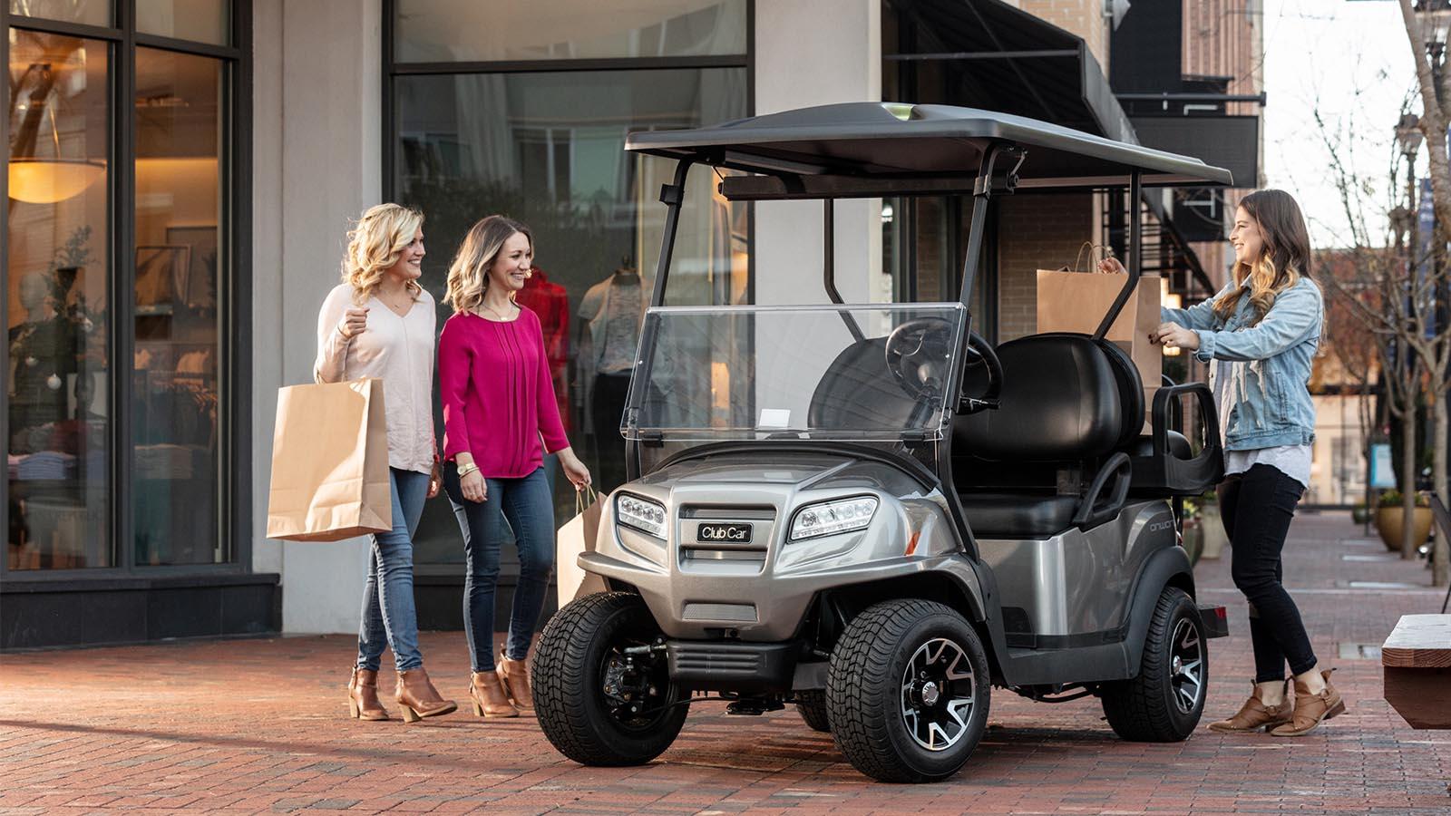 Club Car We Make It Easy at Bulldog Golf Cars