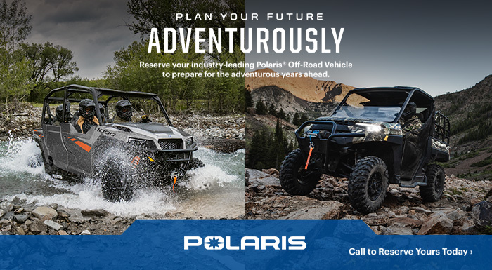 Polaris Plan Your Future at DT Powersports & Marine