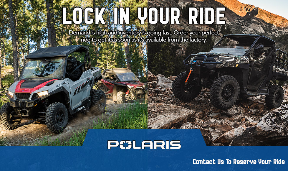 Polaris Plan Your Future at Shreveport Cycles