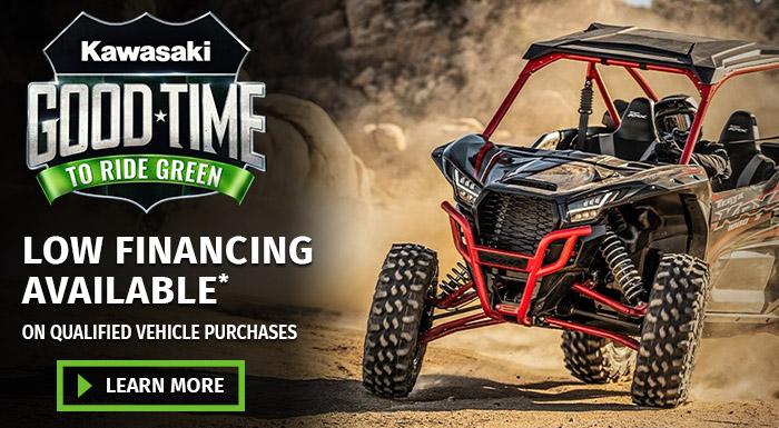 Kawasaki's Good Time to Ride Green at Prairie Motor Sports