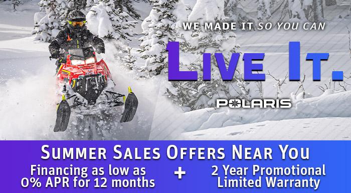 Polaris Summer Sales Offers at Cascade Motorsports