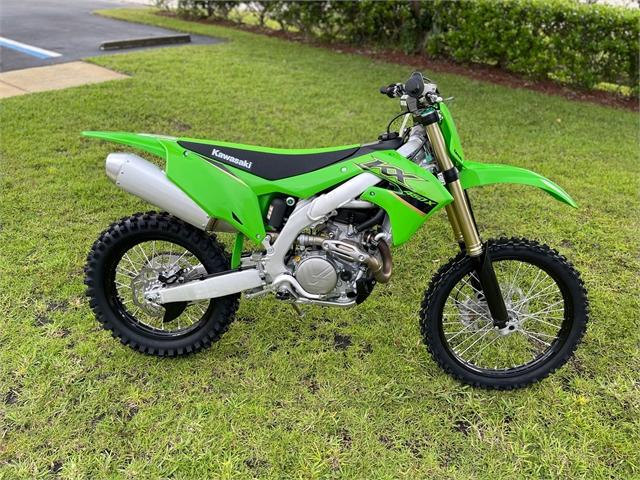 2022 Kawasaki KX 450X at Powersports St. Augustine