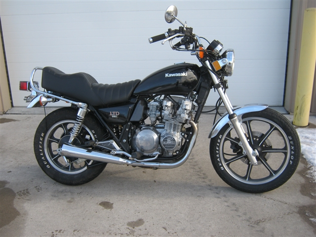 1982 Kawasaki KZ550 LTD at Brenny's Motorcycle Clinic, Bettendorf, IA 52722