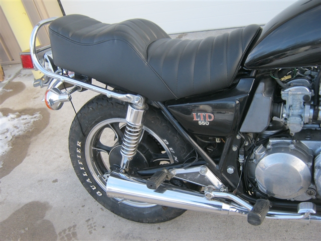 1982 Kawasaki KZ550 LTD at Brenny's Motorcycle Clinic, Bettendorf, IA 52722