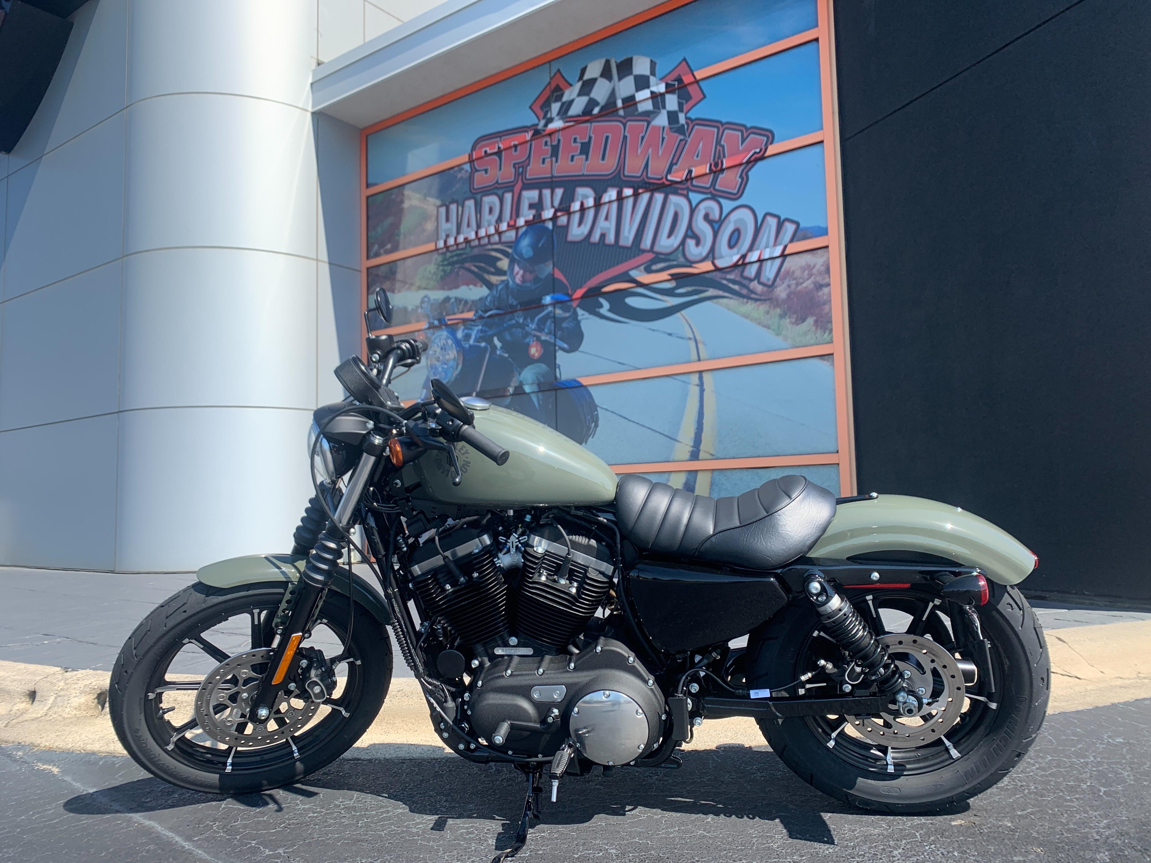 2021 Harley-Davidson Cruiser XL 883N Iron 883 at Speedway Harley-Davidson