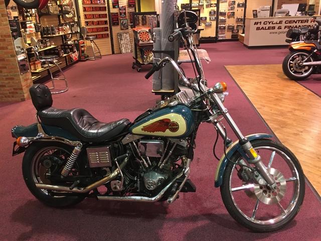 1980 HARLEY FXWG at #1 Cycle Center Harley-Davidson