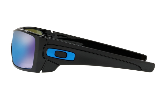 2018 Oakley BATWOLF Polished Black w/ Prizm Sapphire at Harsh Outdoors, Eaton, CO 80615