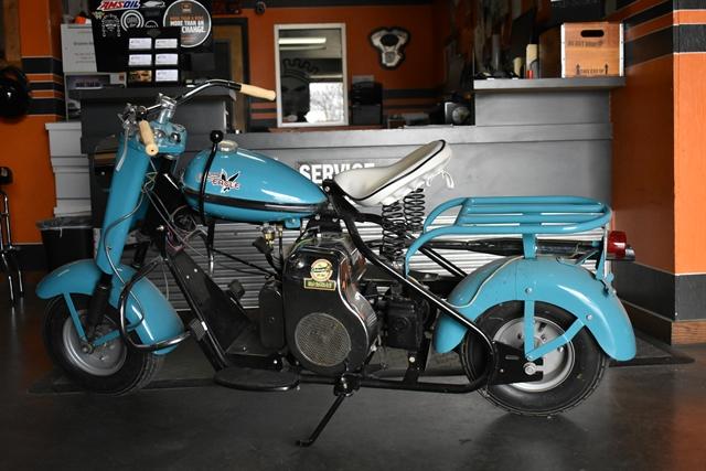 1959 CUSHMN EAGLE at Gruene Harley-Davidson